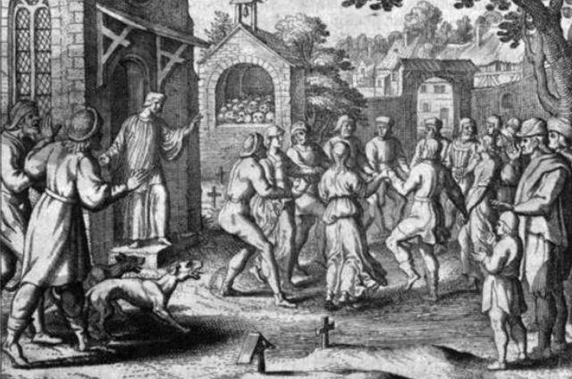varias representaciones gráficas existen de la plaga de 1518