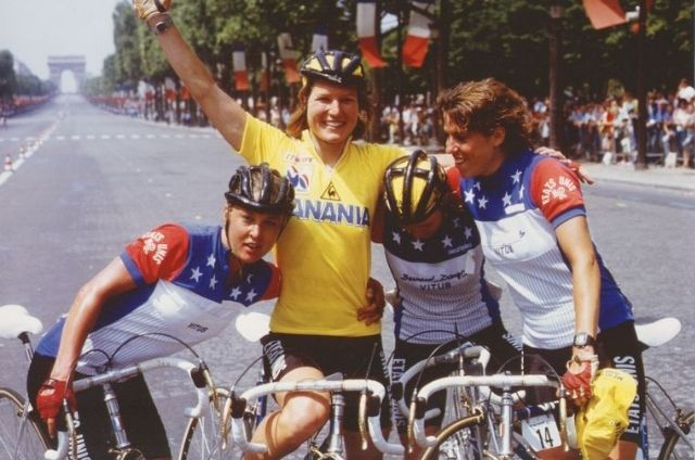 Marianne Martin, ganadora del Tour de Francia femenino