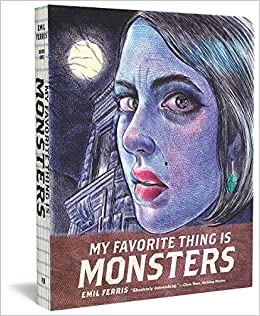 portada de 'Lo que más me gustan son los monstruos'