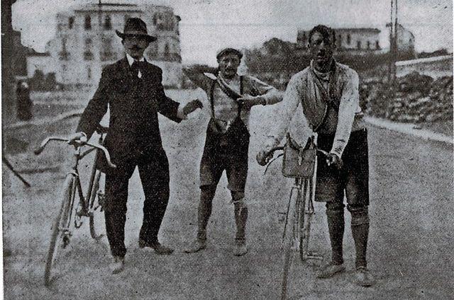 Ganna y Galetti, Giro 1909