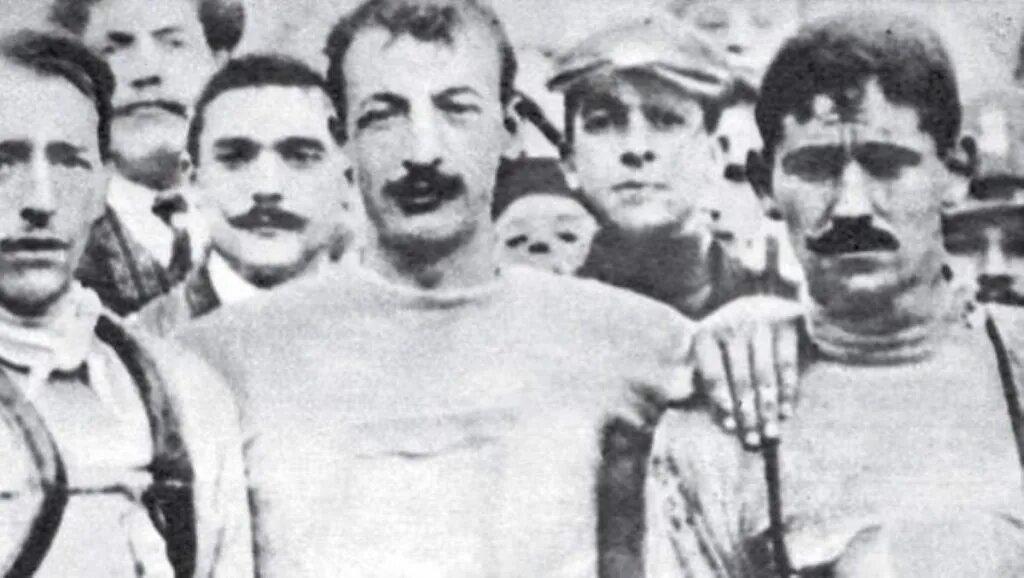 podio del Giro 1909